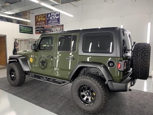 jeep-wrangler-custom-paint-ceramic-coating-greensboro-nc